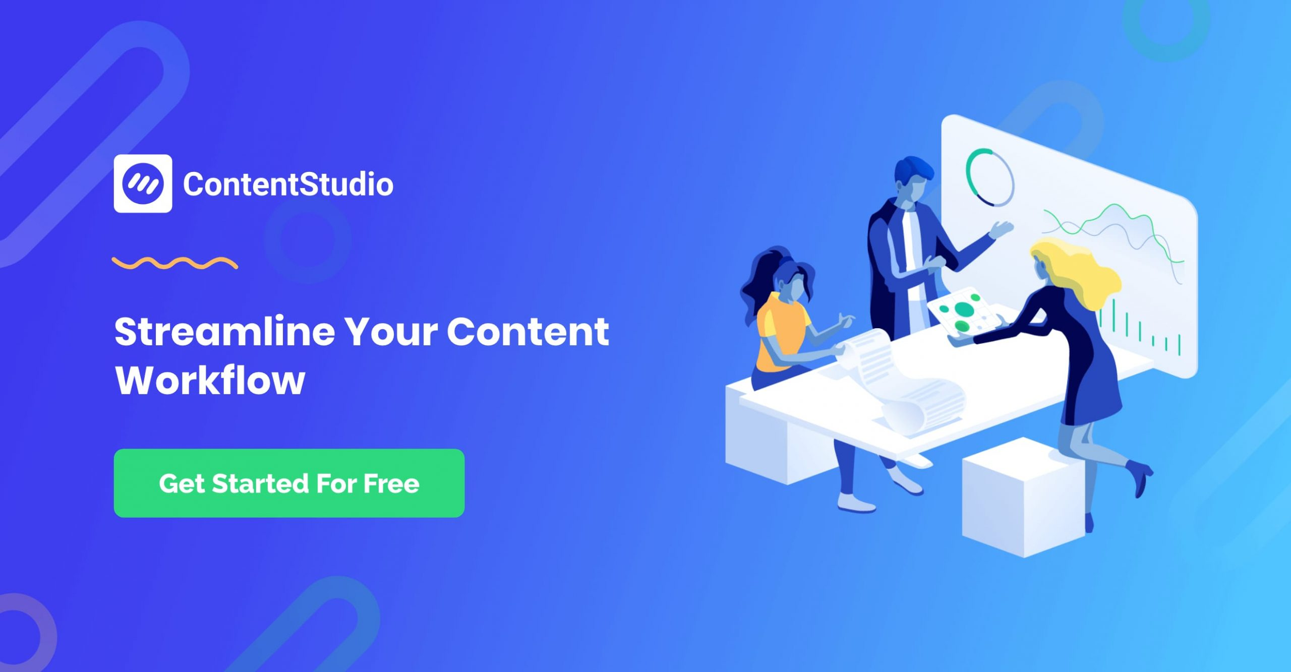 Powerful content marketing and social media management platform