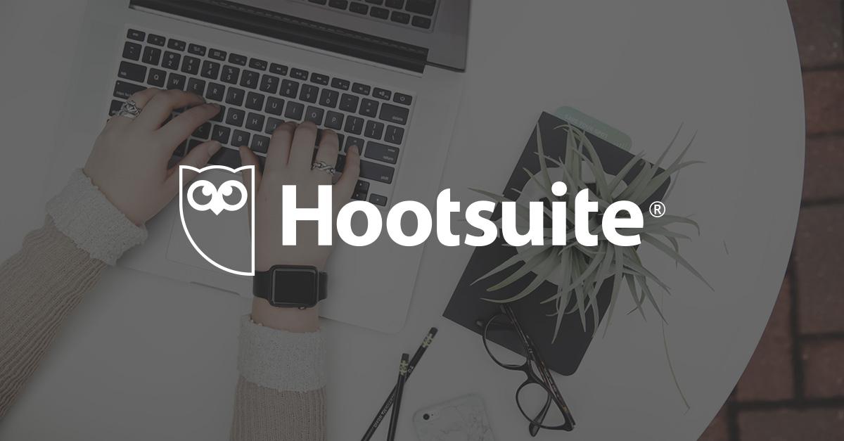 Hootsuite social media management tool