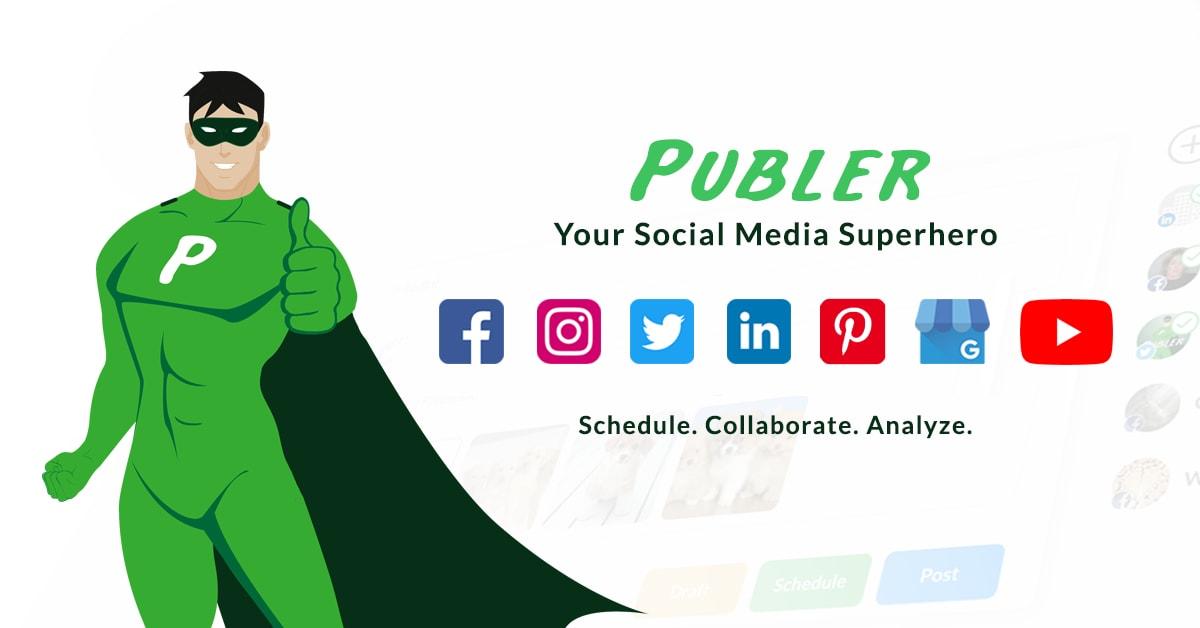 publer social media management